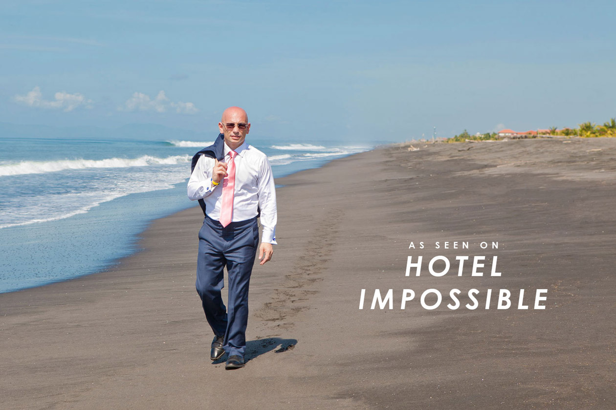 Greg Shoots for Hotel Impossible