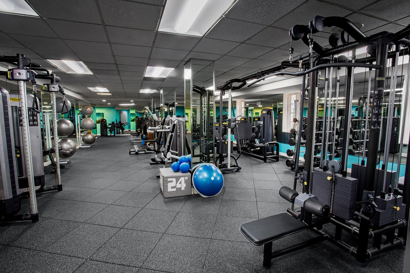 Biltmore Hotel fitness center